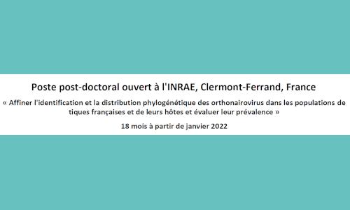 PostDoc - 18 mois - Deadline : 05/11/2021