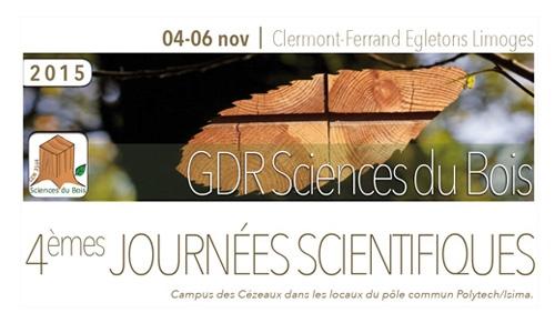 GDR Journées scientifiques 2015