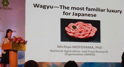 Michiyo Motoyama à l'ICoMST